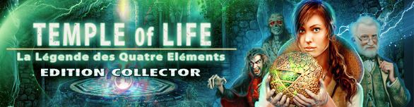 Temple of Life: La Légende des Quatre Eléments Edition Collector